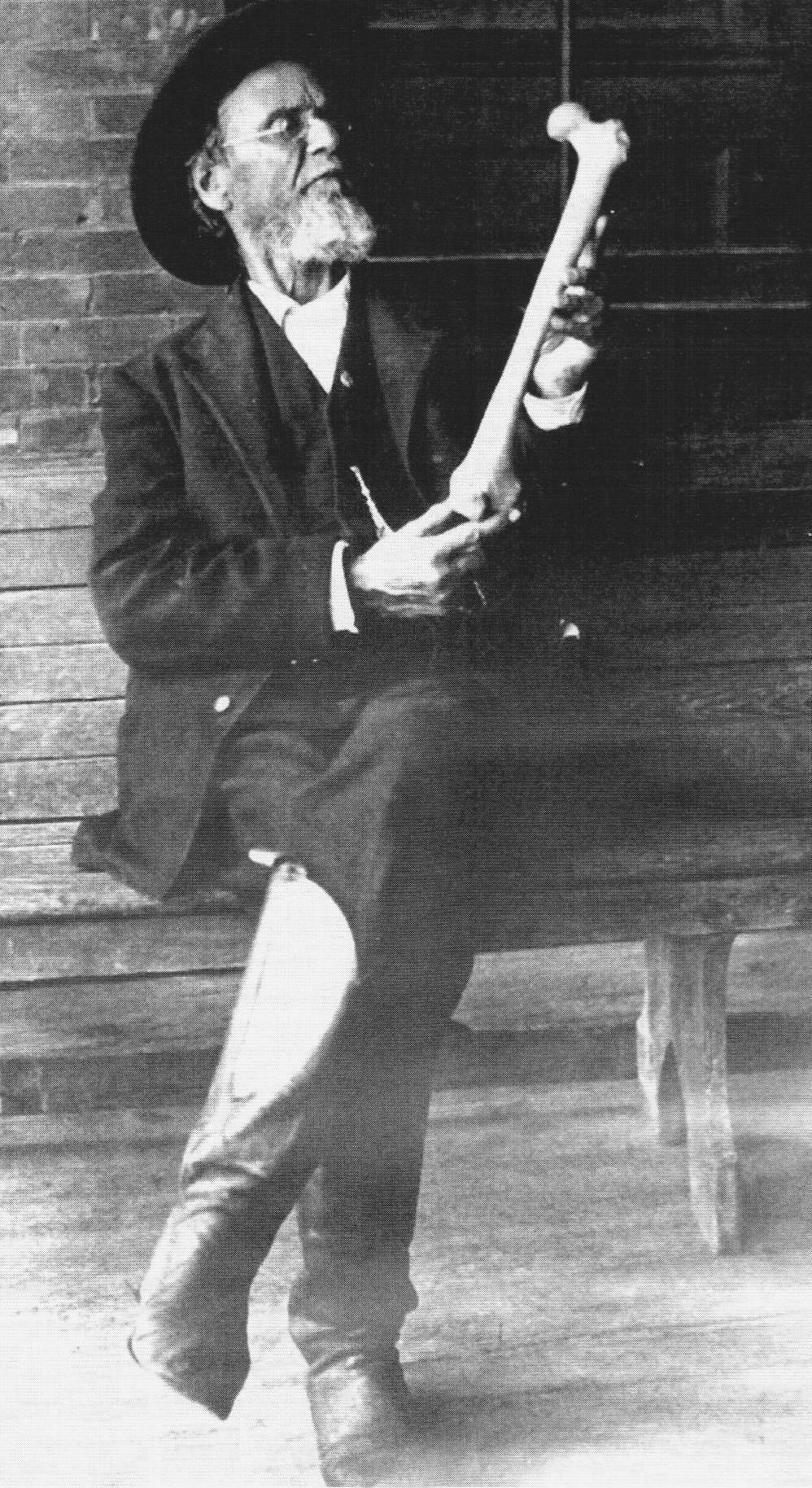 Andrew Taylor Still Gründer der Osteopathie